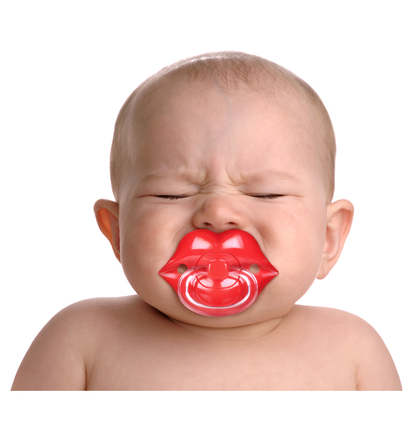 CHILL BABY Lips Pacifier